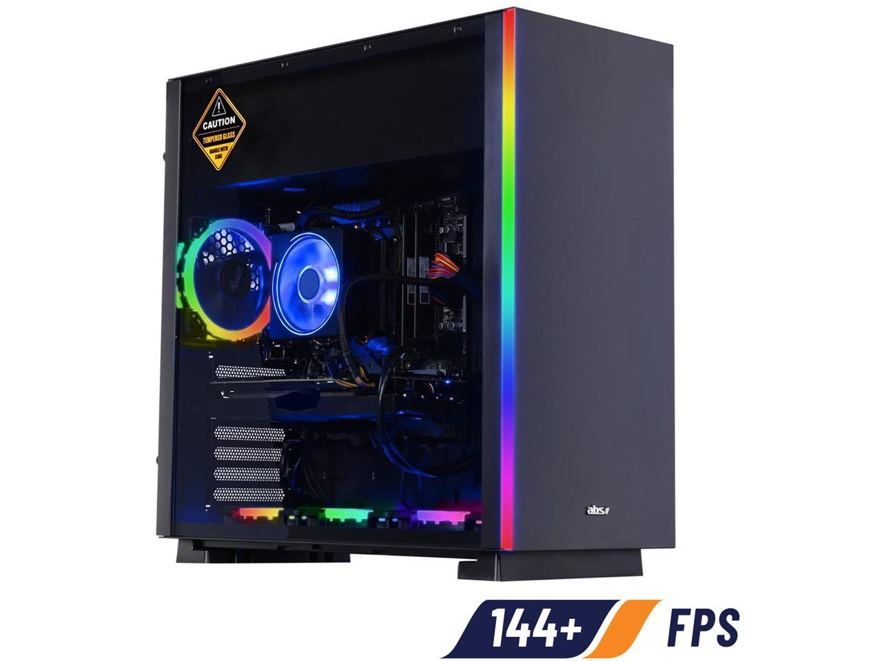 ABS Prism B Ryzen 7 3700X GeForce RTX 2070 SUPER 16GB DDR4 RAM 1TB SSD Gaming Desktop