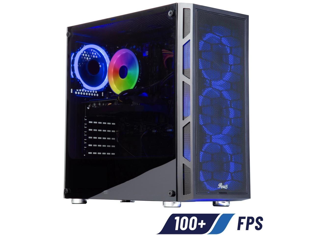 ABS Challenger Intel i5 10400F GeForce GTX 1660 SUPER 16GB DDR4 RAM 512GB SSD Gaming Desktop
