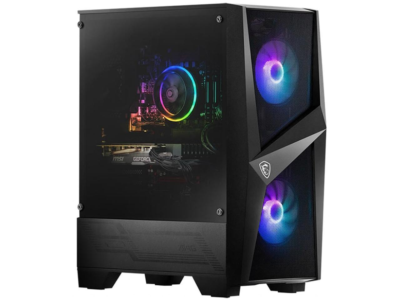 MSI CODEX R Intel Core i7-10700F GeForce RTX 2060 16GB DDR4 RAM 1TB HDD + 512GB SSD Gaming Desktop, 10SC-006US