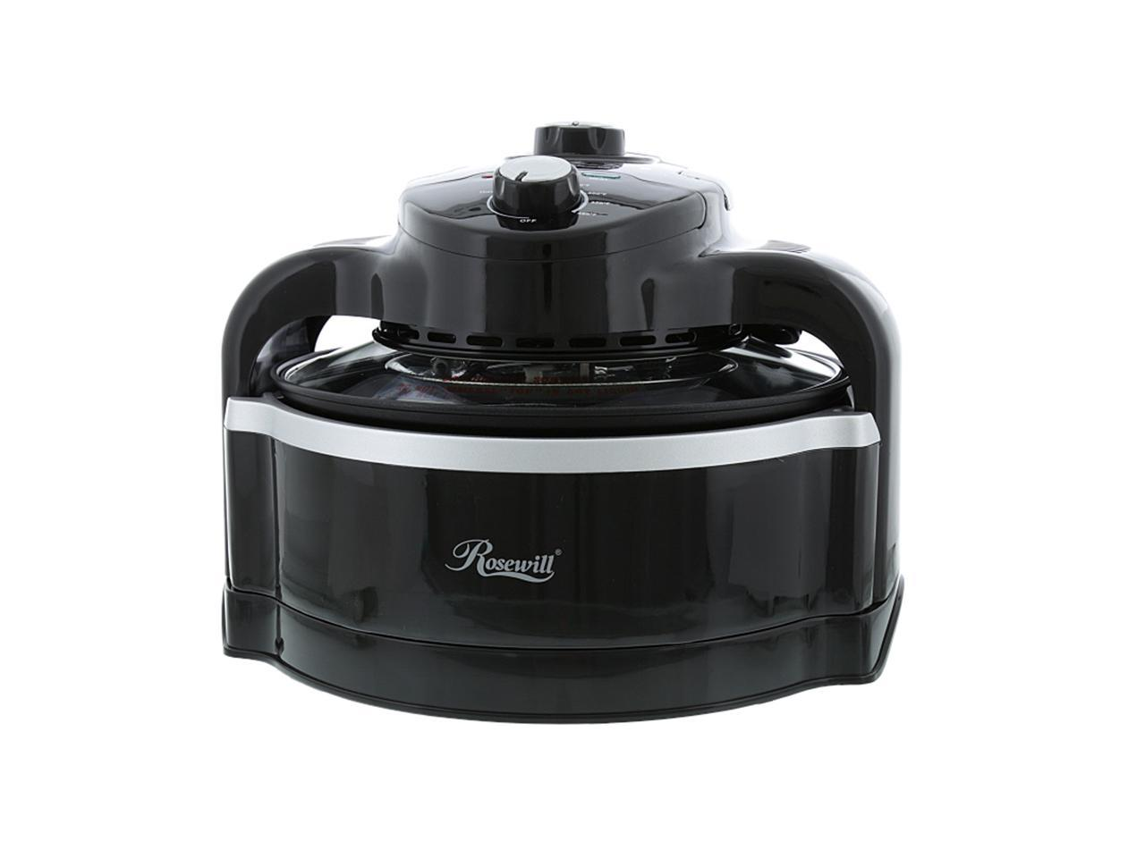Rosewill Air Fryer 7.4-Quart Multicooker with Frying Basket and Accessories