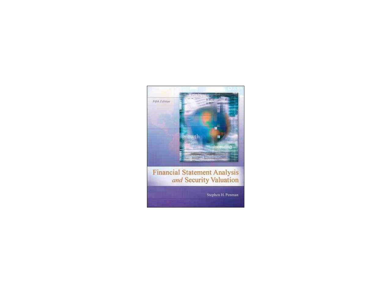 Financial Statement Analysis And Security Valuation 5 Newegg Com