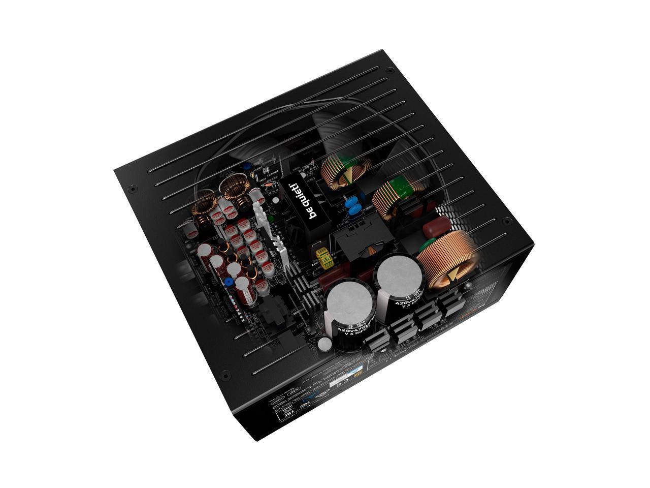 be quiet STRAIGHT POWER 11 PC Netzteil ATX 550W mit Kabelmanagement 80plus Gold BN281 schwarz