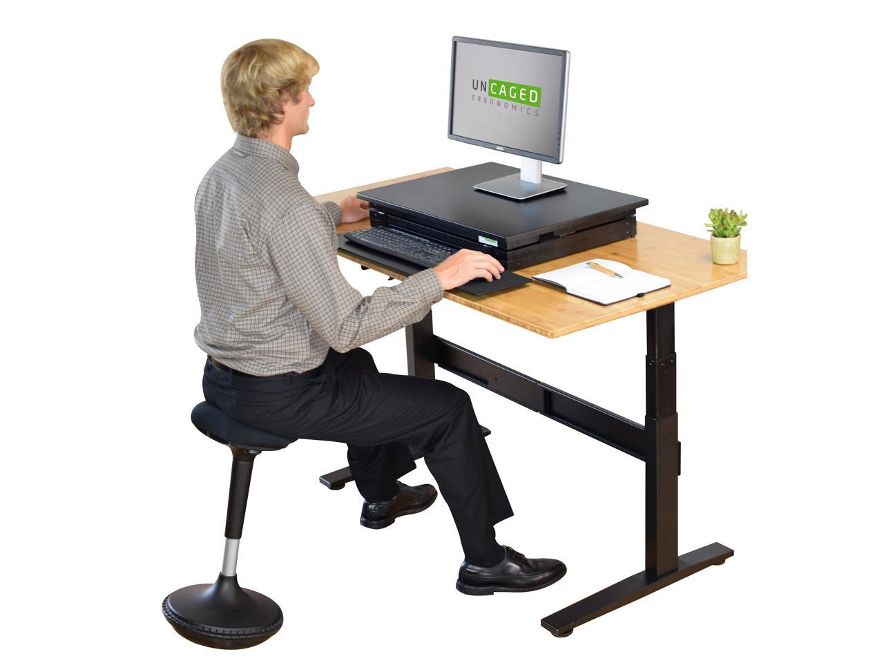 Image of: Wobble Stool Standing Desk Balance Chair For Active Sitting Tall Ergonomic Adjustable Height Swiveling Leaning Perch Perching Ergonomic Sit Stand High Computer Chair Swivels 360 For Adults Kids Newegg Com