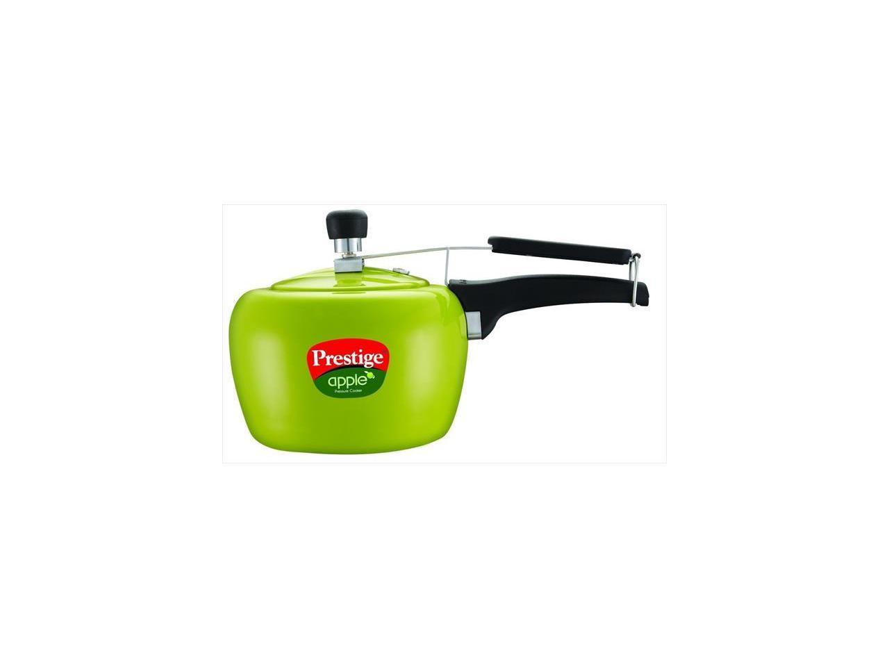 Prestige Pra3g Apple Aluminum Green Color Pressure Cooker 3 Litres Newegg Com