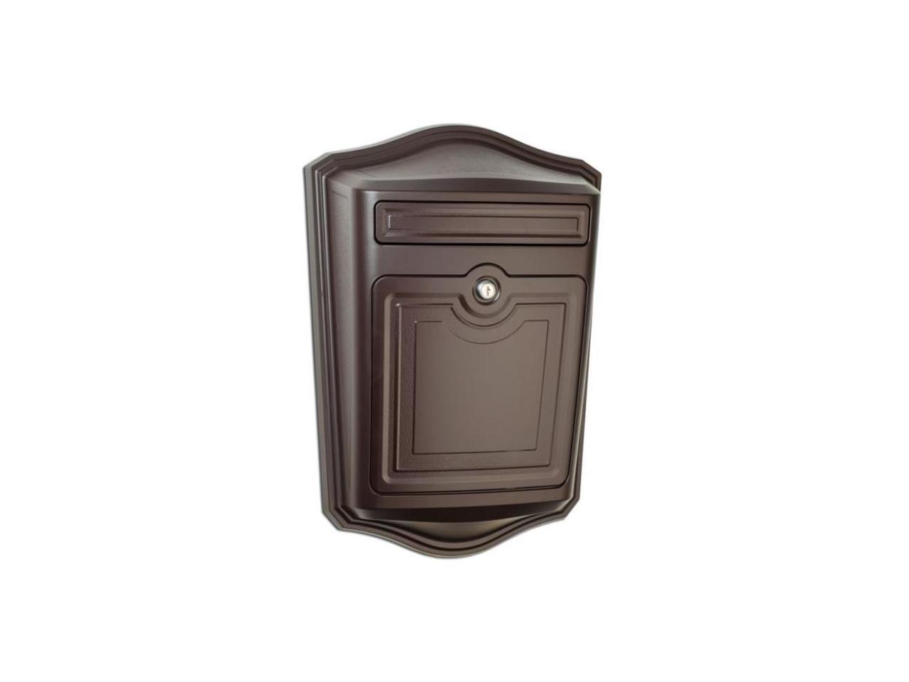 Picture of: Architectural Mailboxes 2540rz 10 Mailson Lockable Wall Mount Mailbox Oil Rubbed Bronze Newegg Com