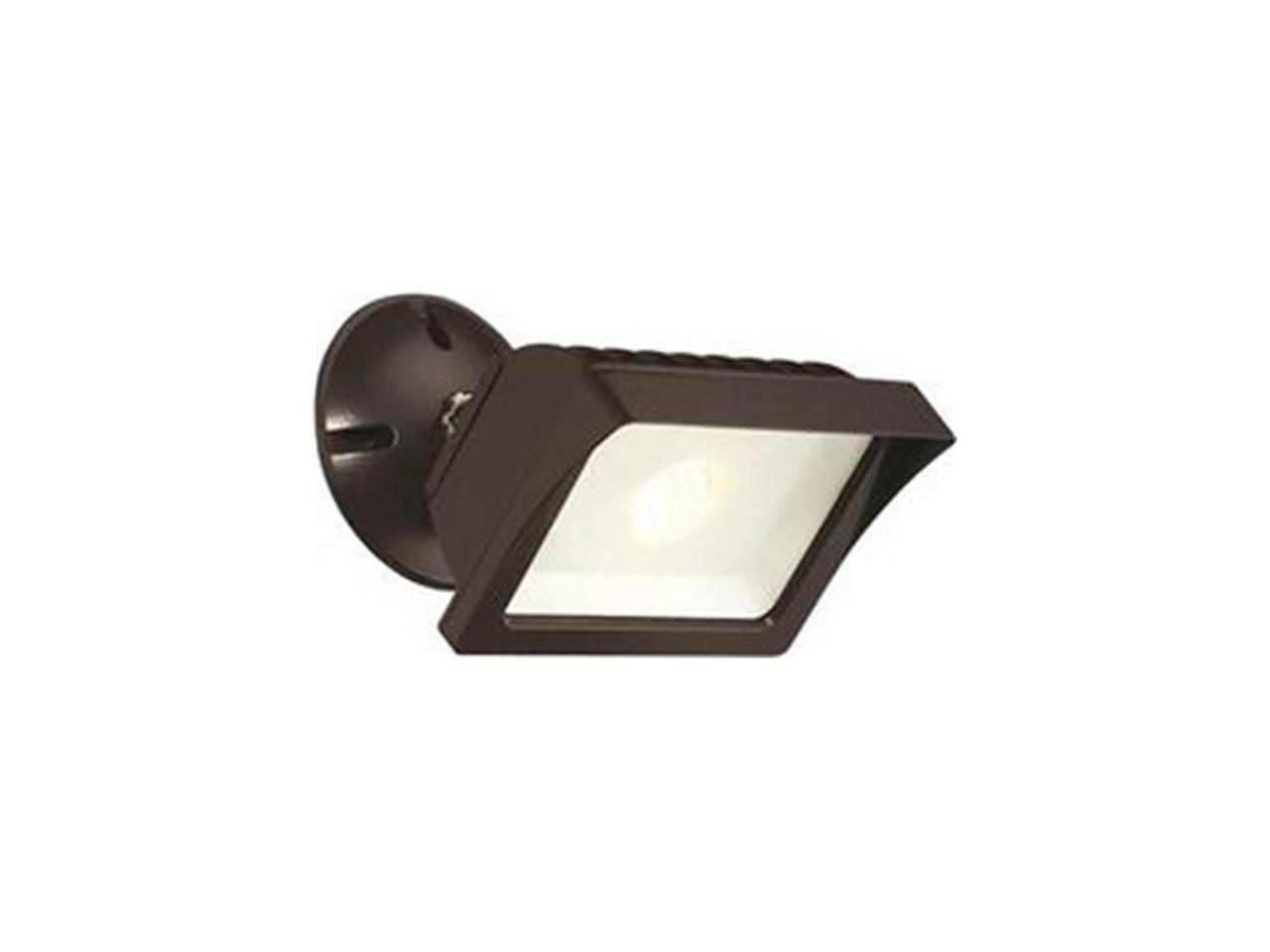 Envirolite 3561922 Led Adjustable Single Head Outdoor Wall Flood Light Bronze Integrated Led Included Newegg Com