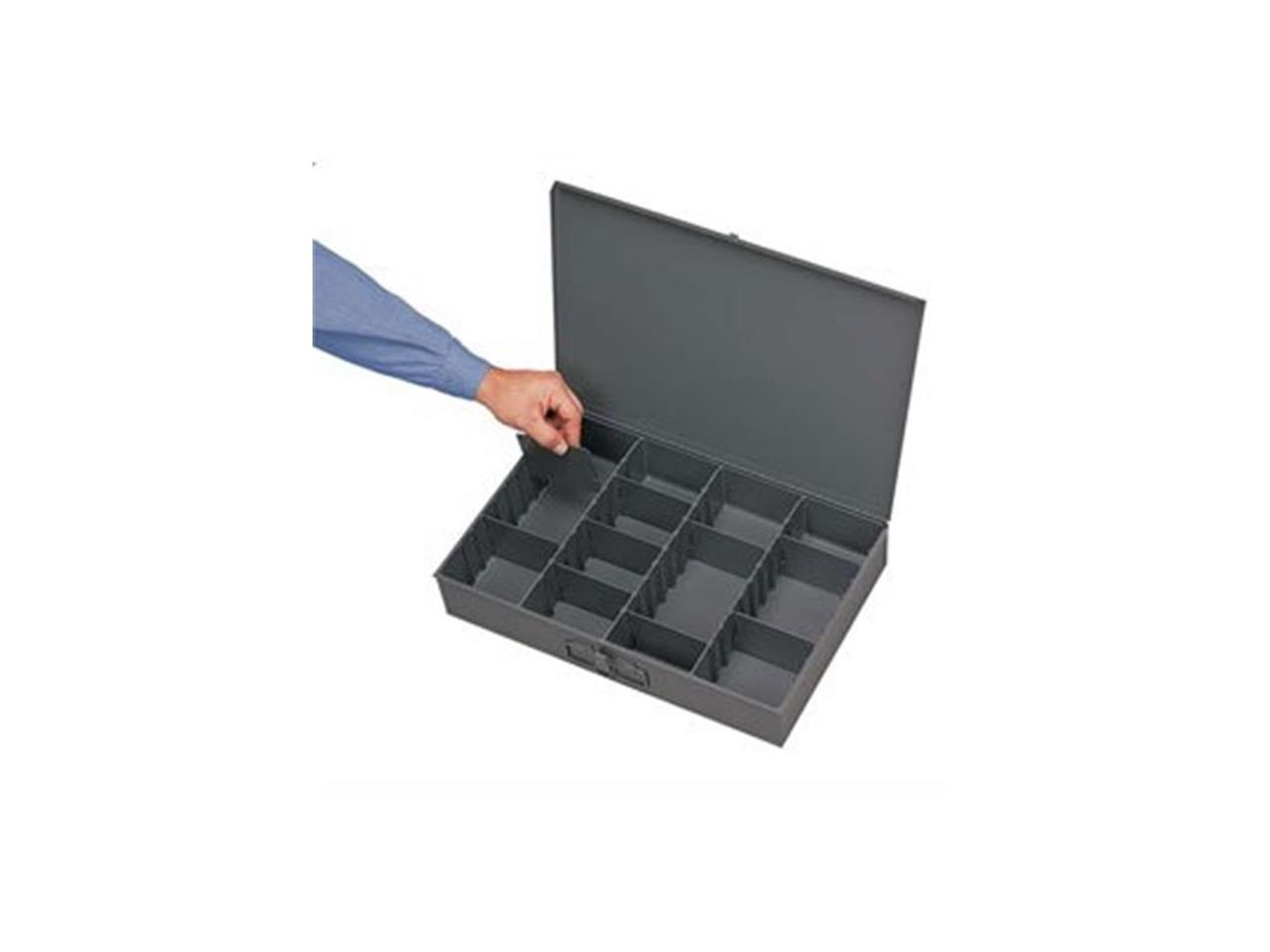 pack of 6 Small Adjustable Compartment Box Durham 215-95