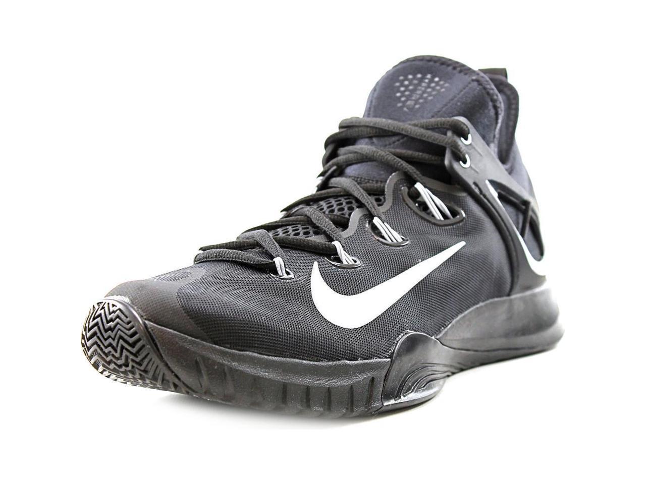 Nike Zoom 10 HyperRev 2015 Men US 10 Zoom Black Basketball Shoe 099574