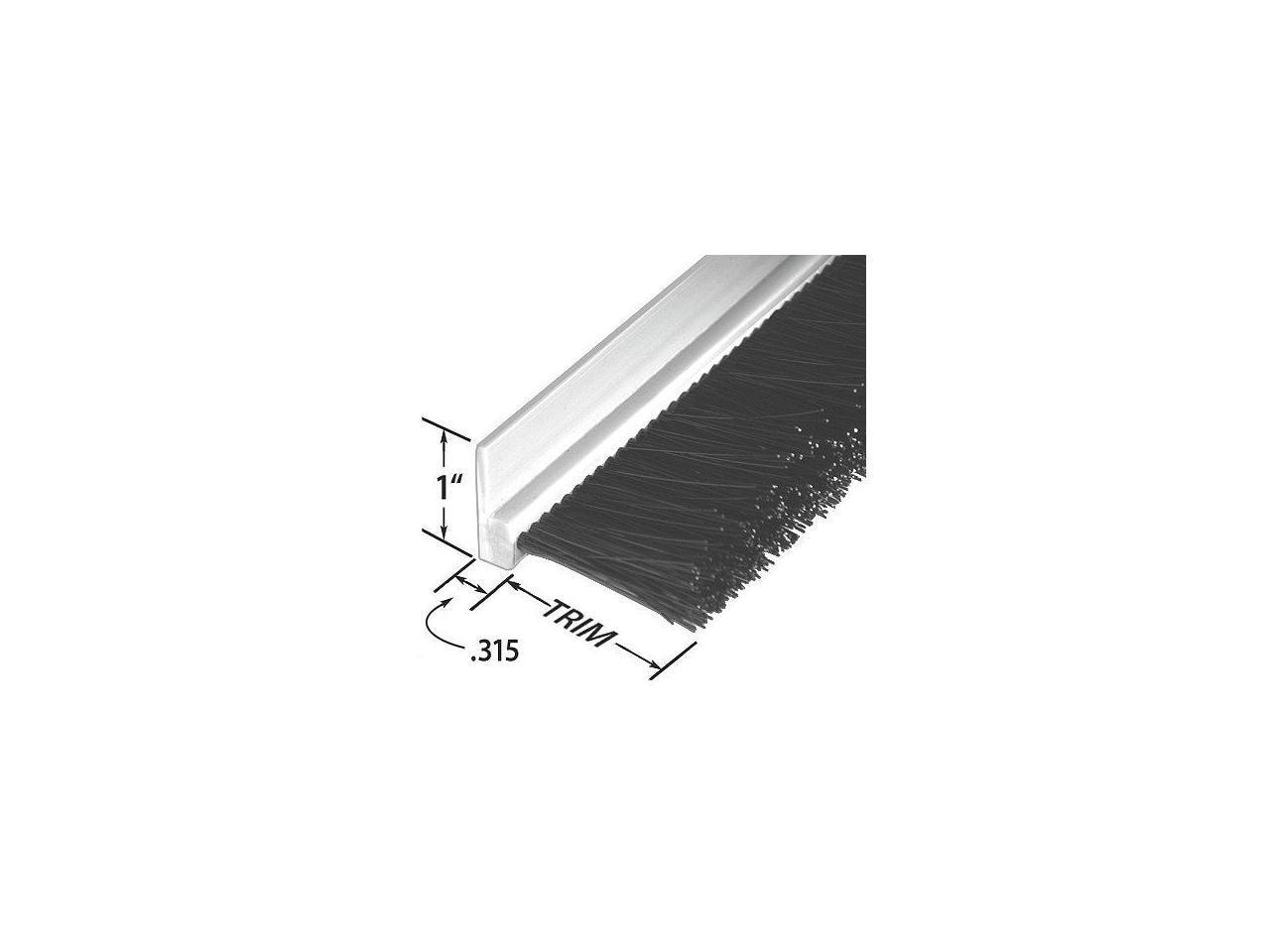 RPVC311072 Length 72 In PVC Tanis Stapled Set Strip Brush