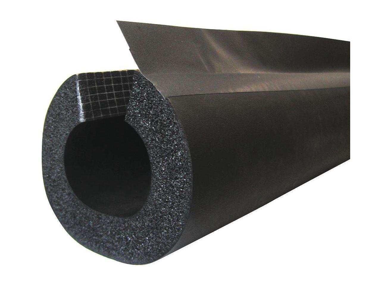 238-AC41238 ID,6 ft. AEROFLEX Pipe Ins.,EPDM,4-1//2 in Black