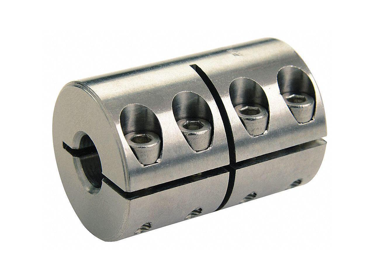 Ruland Manufacturing Pcr16-6-6-A Coupling,4 Beam Clamp,Bore 3//8 X 3//8 In