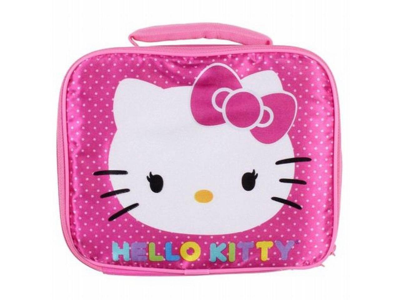 Hello Kitty Thermal Cooler Insulated Lunch Box Bag Travel