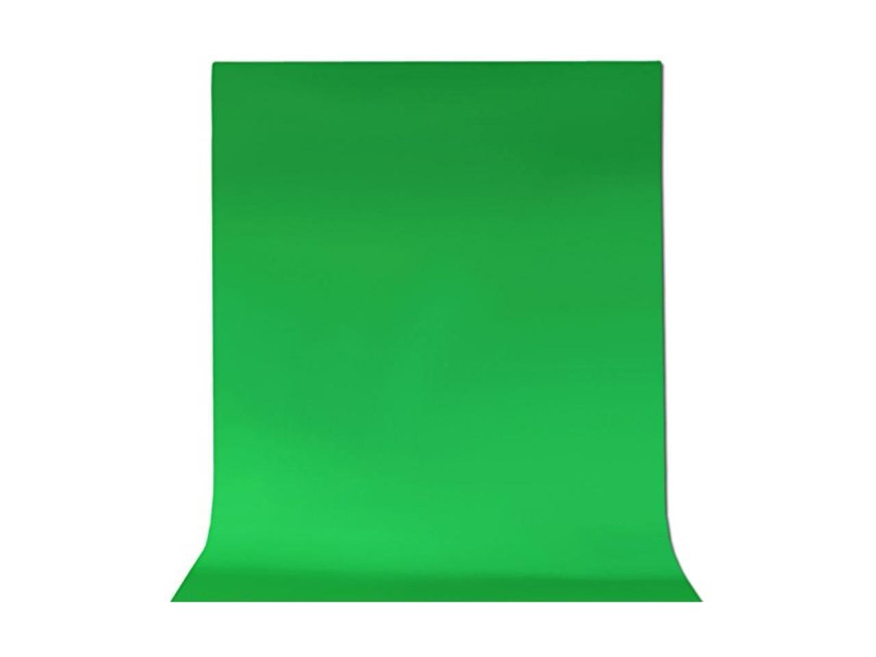 ePhotoInc 6 x 9 Feet Cotton Chromakey Green Screen Muslin Backdrop Photo Photography Background G69