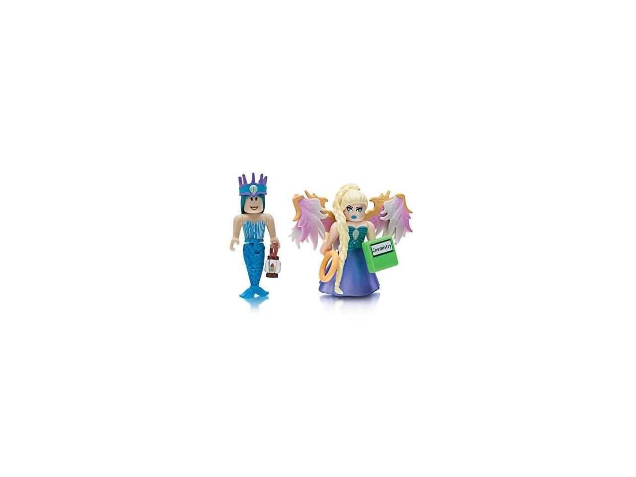 Roblox Celebrity Collection Neverland Lagoon Crown Collector And Royale High School Enchantress Two Figure Pack Newegg Com