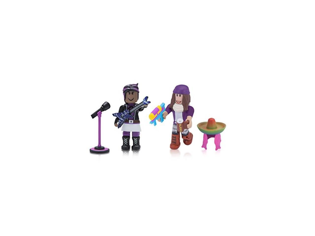 Playing Roblox High School Roblox Celebrity Collection Wild Starr And Roblox High School Spring Break Two Figure Pack Newegg Com