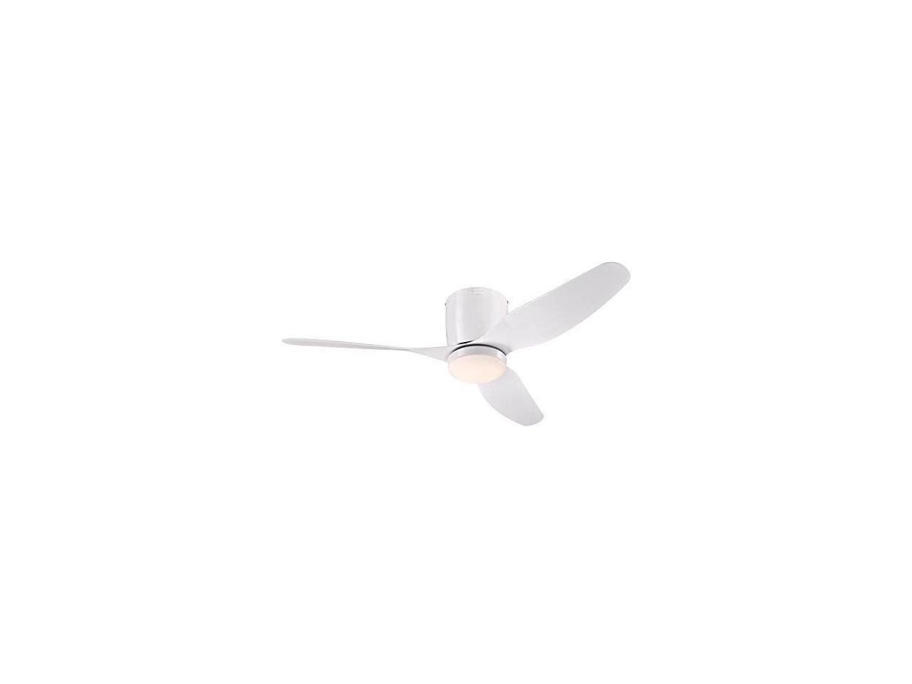 Westinghouse Lighting 7225100 Carla Ceiling Fan With Light And Remote Control 46 Inch White Newegg Com