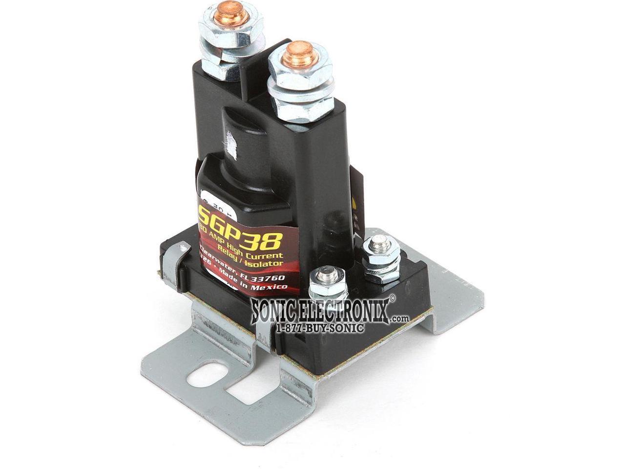Stinger Sgp38 Car Audio 80 Amp 12v Dual Battery High