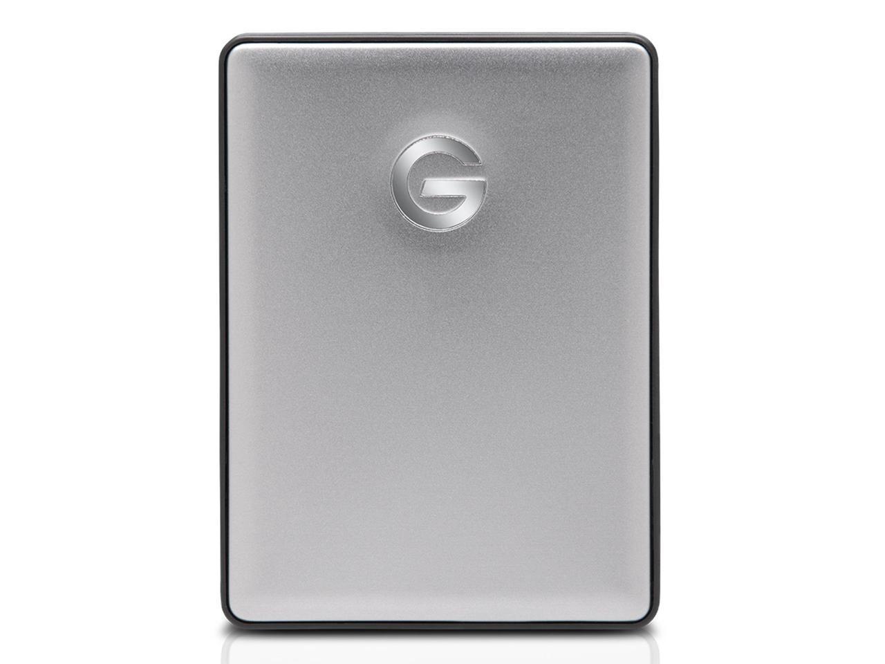 0G10317 USB 3.1 Gen 1 Space Gray G-Technology 2TB G-DRIVE Mobile USB-C Portable External Hard Drive