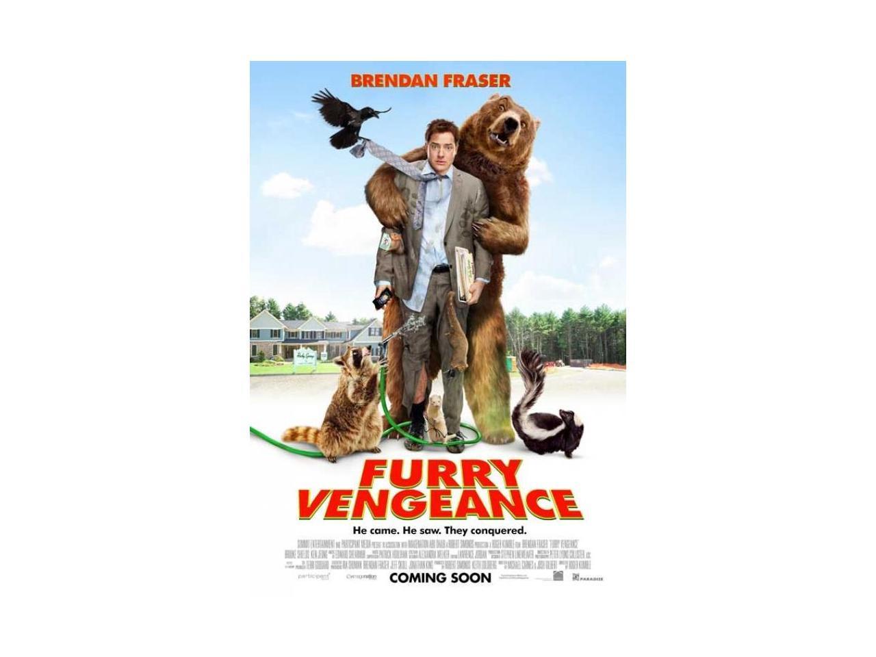 Posterazzi MOVIB92290 Furry Vengeance Movie Poster - 27 x ...