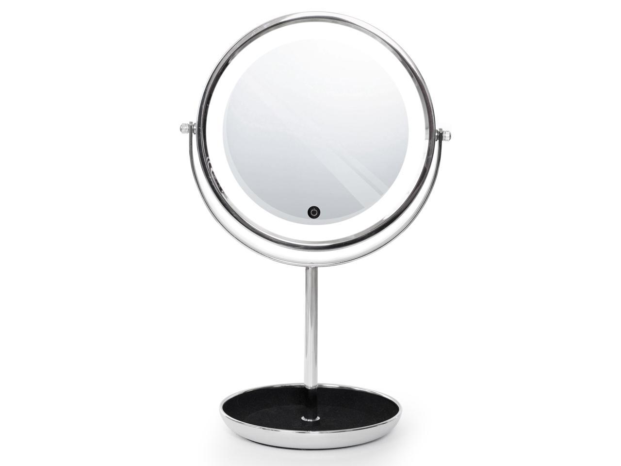 ToiletTree Products Countertop LED Lighted Makeup Mirror