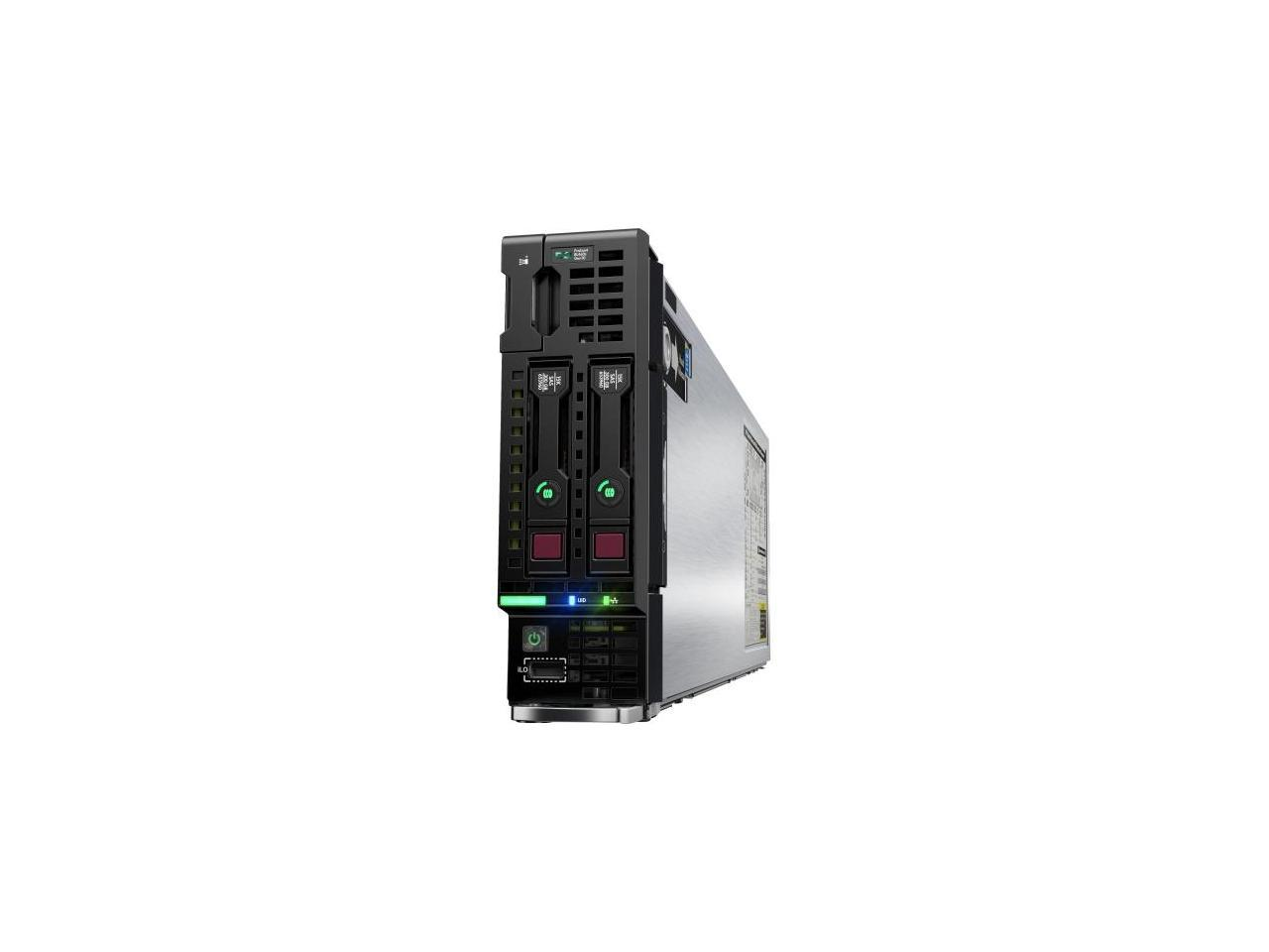 Onboard RAID 2X 300GB 15K SAS 2.5 8GB DDR3 2X Intel Xeon E5-2640 V2 2.0GHz 8C HP ProLiant BL460c G8 2-Bay SFF Blade Server Certified Refurbished
