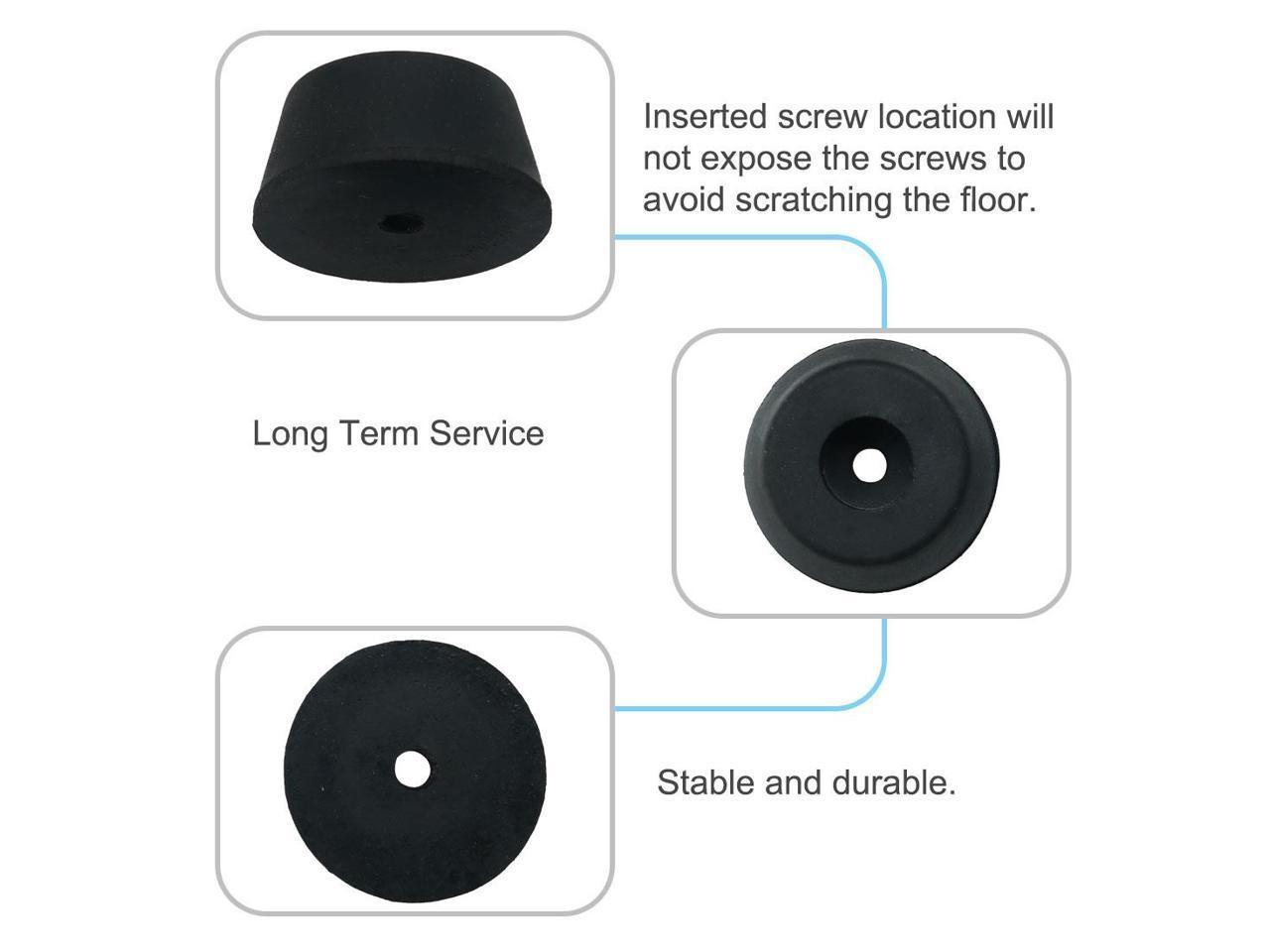 36pcs Rubber Feet Bumper Furniture Table Amplifier Speaker ...