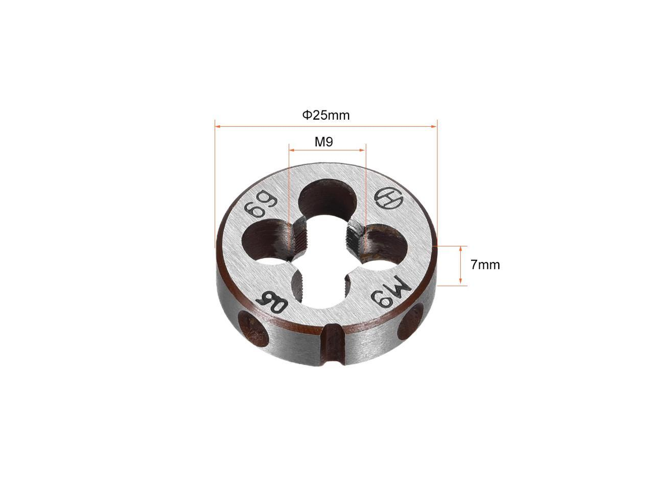 Details about  /M9.5 x 1 mm Pitch Thread Metric Right Hand Die