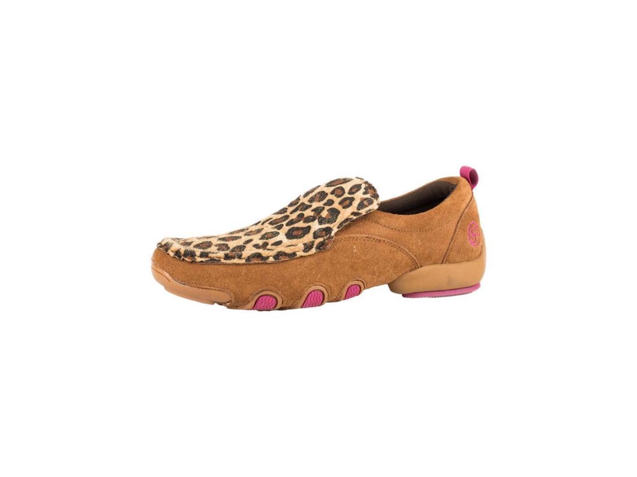 Roper Western Shoes Shoes Shoes Womens Cheetah Moc 8 B Tan 09-021-1778-0128 TA 5703b8