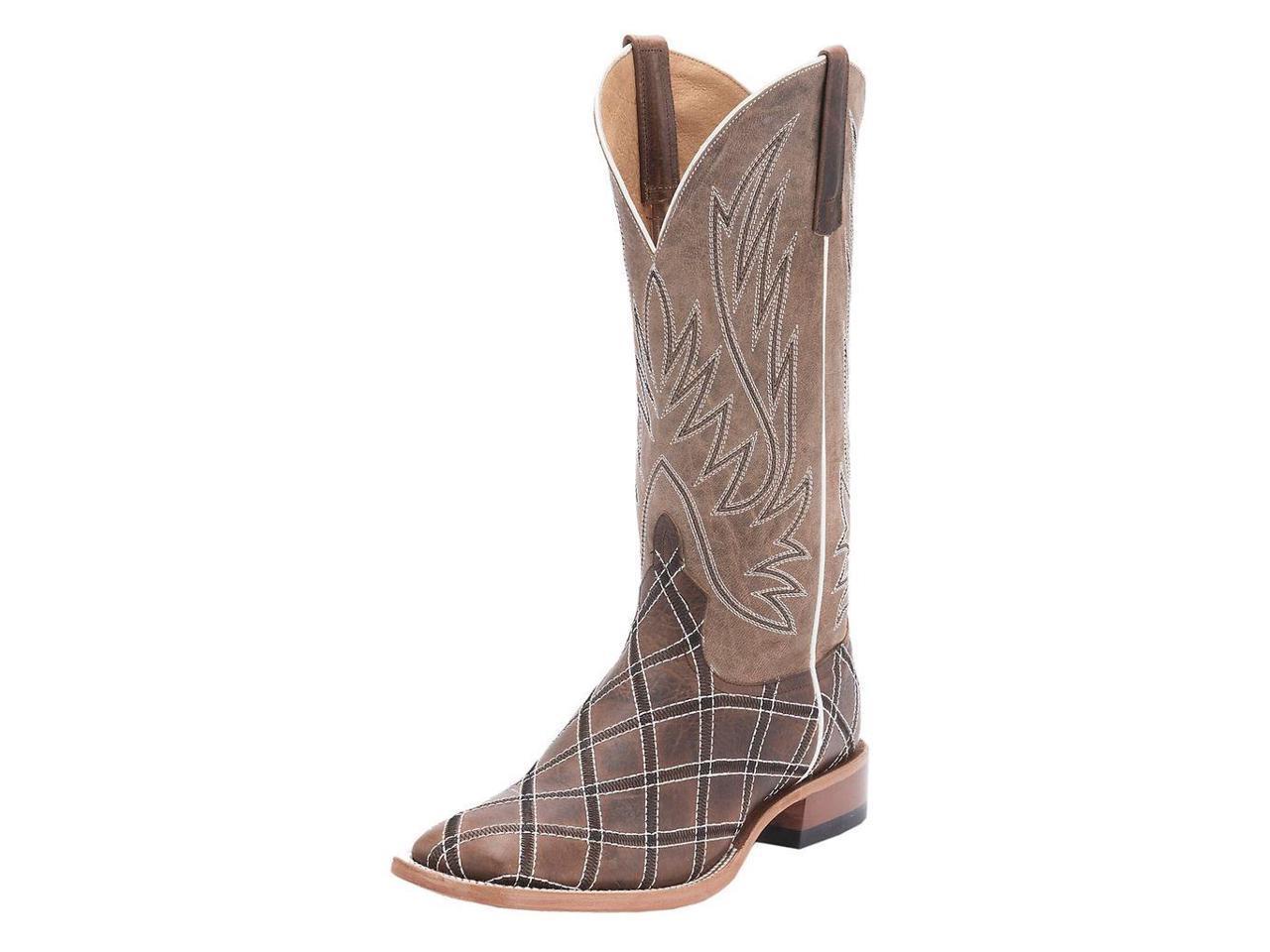 Horse Power 11 Western Boots Tough Mens Leather Cowboy 11 Power B Moka HP1082 55a7cc