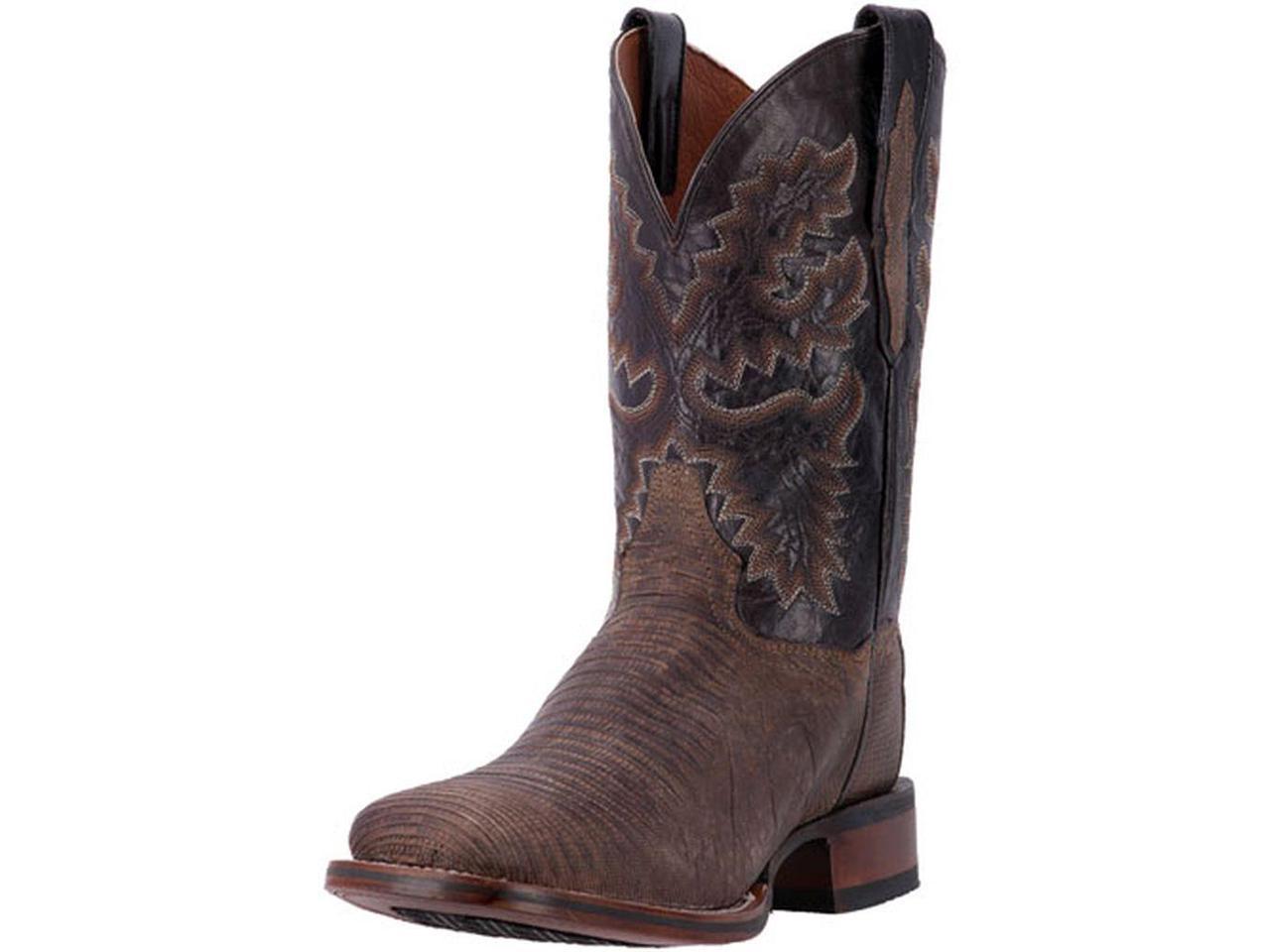 Dan Post Western Boots Mens Hurst Brown Orthotic Stockman 8.5 D Brown Hurst DP3878 980989