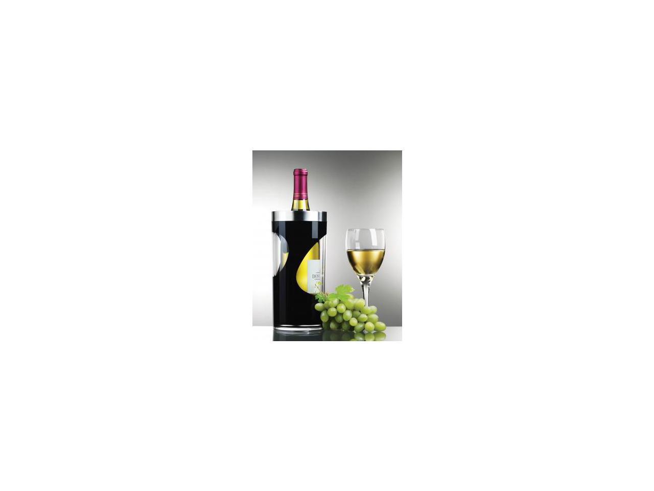 Prodyne A903b Black Wine Cooler Two Tone Iceless Swirl Design Newegg Com