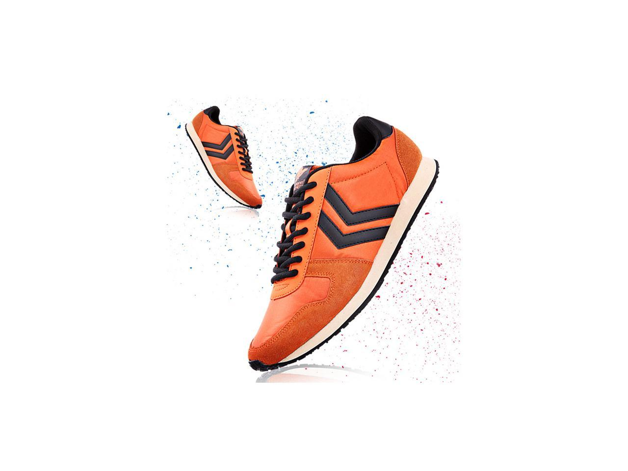 1 Pair NEW Men Casual Comfort Outdoor Sports Shoes Running 10 Sneakers Orange US Size 10 Running CH Size 44 4f9e21