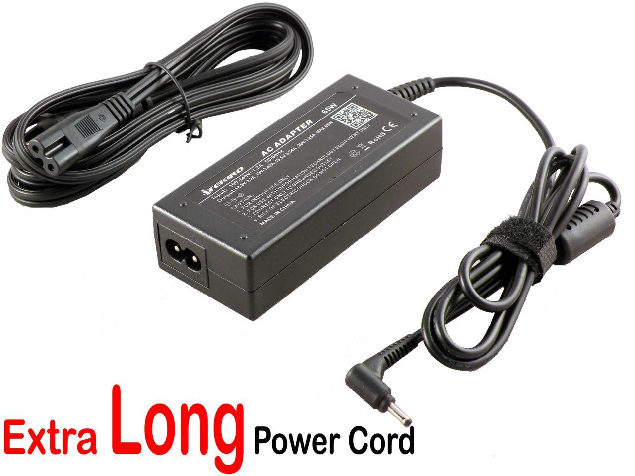 iTEKIRO 19V AC Adapter for Samsung NP940X3G NP940X3K NP940X3L NP940X3M NP940X3N NP940X5J NP940X5N XE700T1A; Samsung A13-040N2A AA-PA2N40L AA-PA2N40S AA-PA3NS40//US AD-4019A AD-4019P AD-4019W AD-4019SL