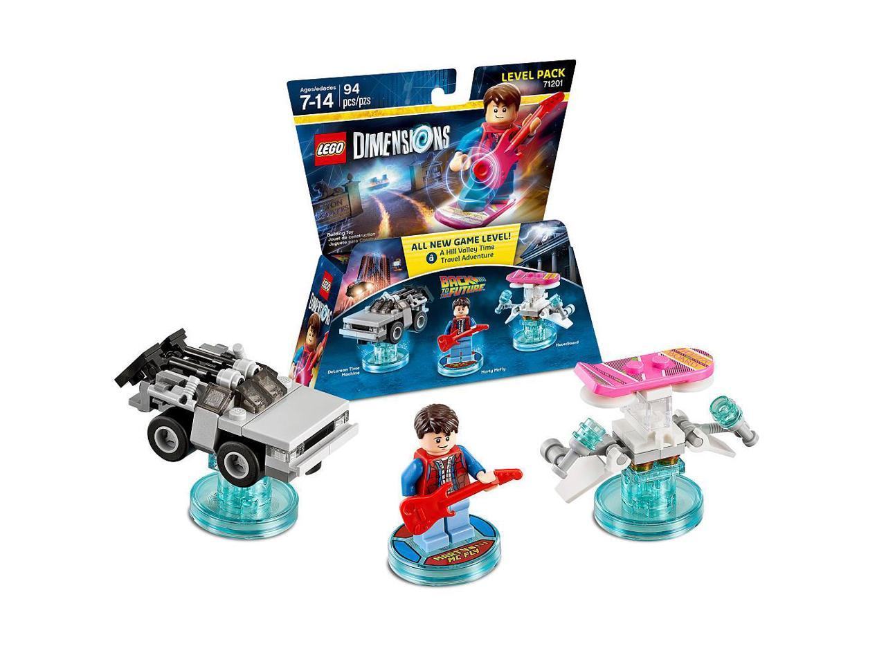 Lego Dimensions Level Pack Back To The Future Newegg Com