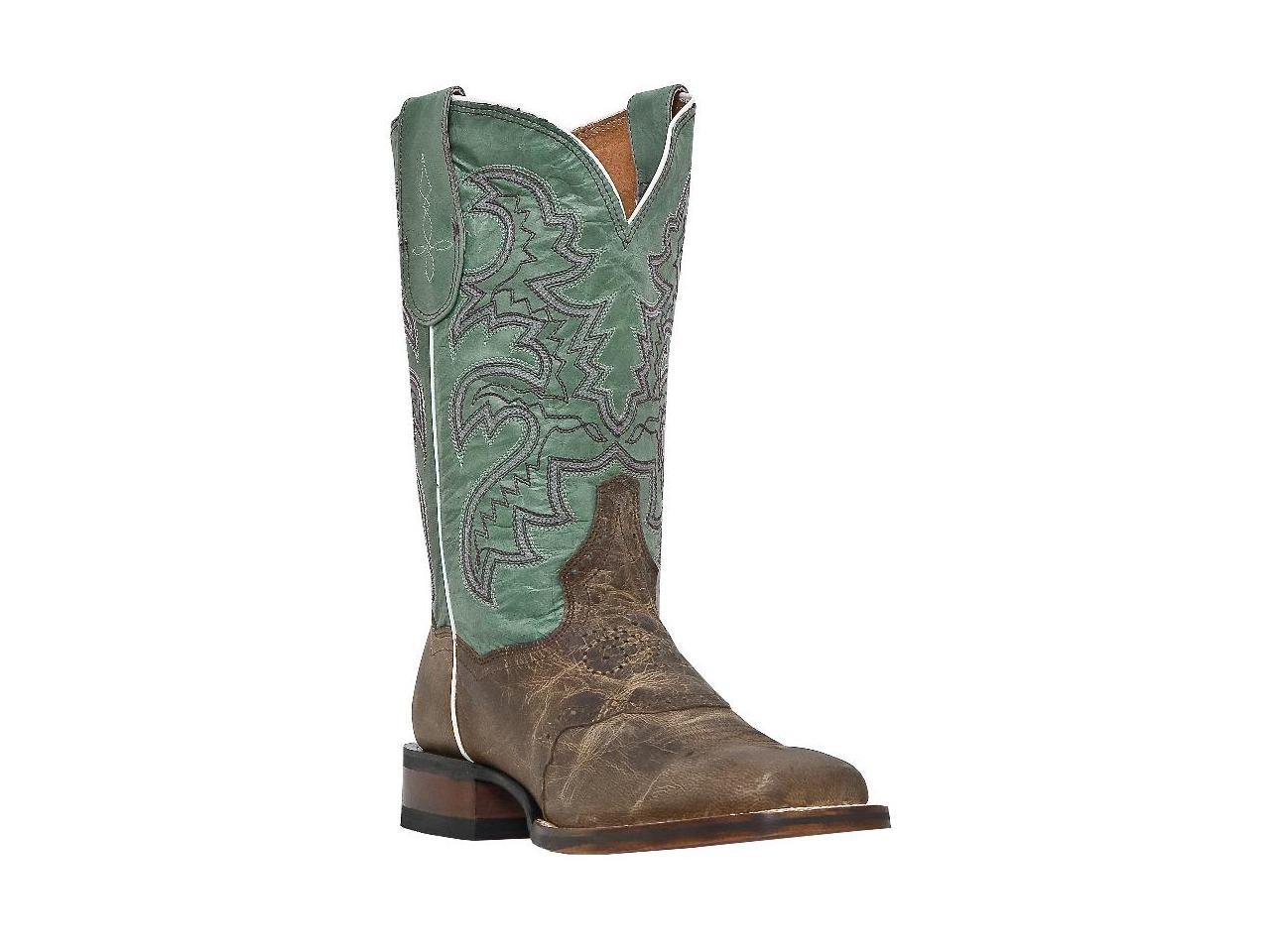Classy Mid Square Calf Western Boots Genuine Goat Leather Square Mid Toe Lined Leather c23c02