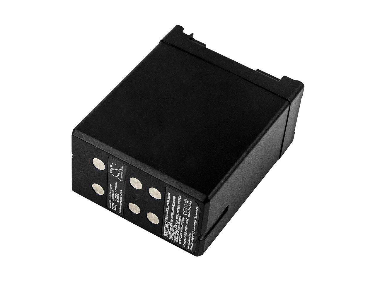 Thales 1600515 7 6140 01 487 1153 Replacement Battery For Thales Rc 148 Newegg Com