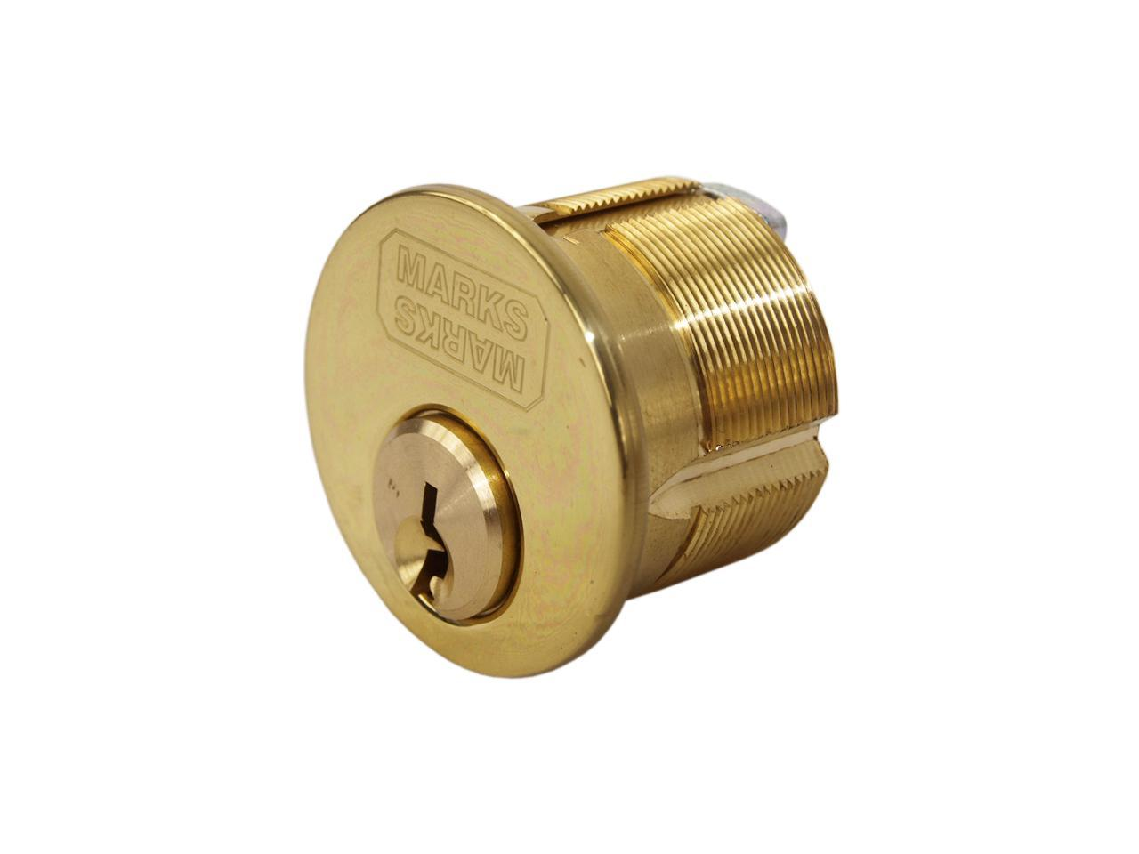 General Lock Mortise Thumbturn Cylinder Satin Chrome