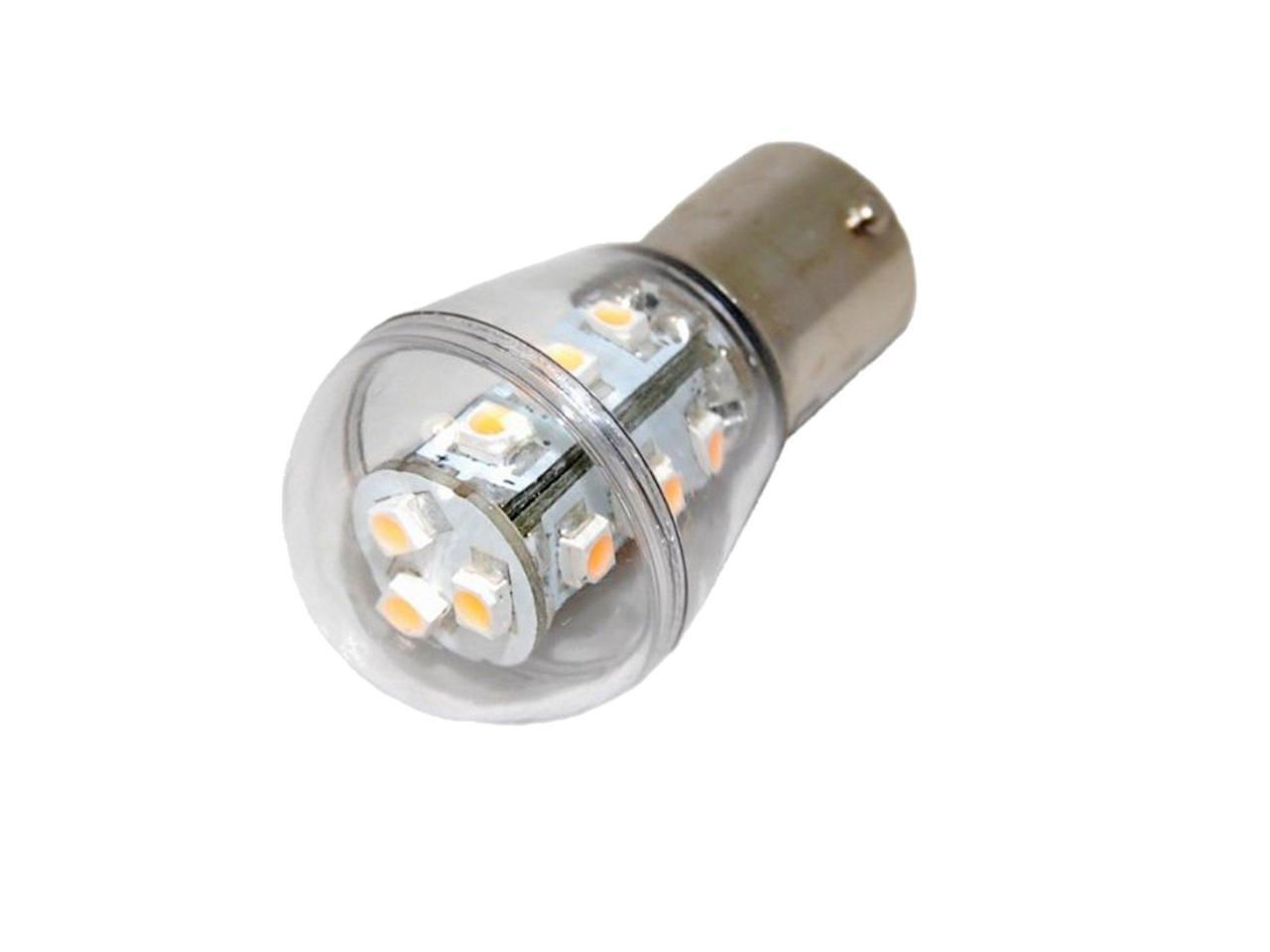 HQRP 2-Pack Headlight LED Bulb compatible with John Deere LTR166 LTR180 LT133 LT150 LT155 LT160 LT166 LT170 LT180 LX255 LX266 LX277 LX279 LX280 LX289 L100 L107 L108 L110 L111 Tractor