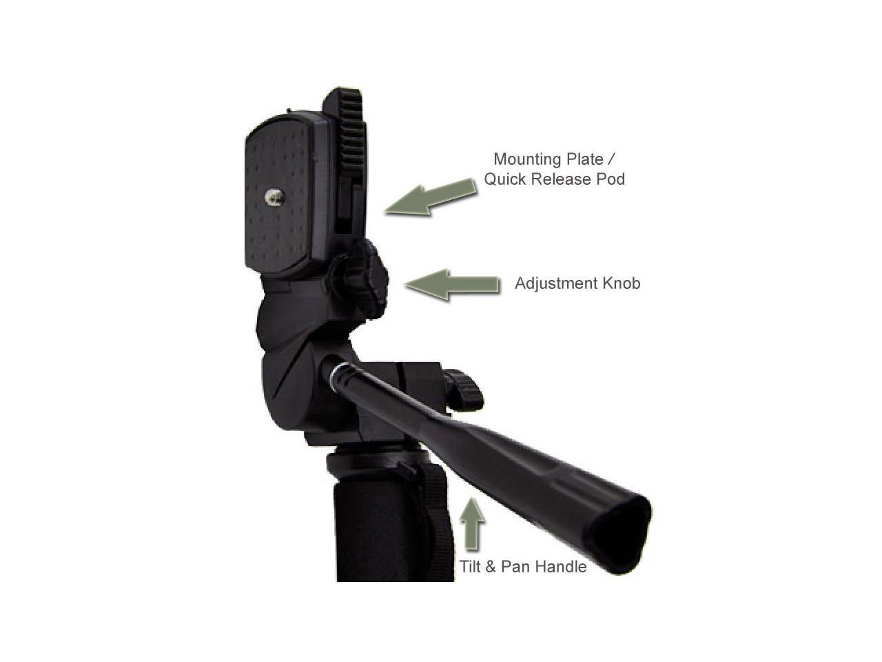 For Fujifilm FinePix S9800 Professional Black 72 Monopod//Unipod Quick Release