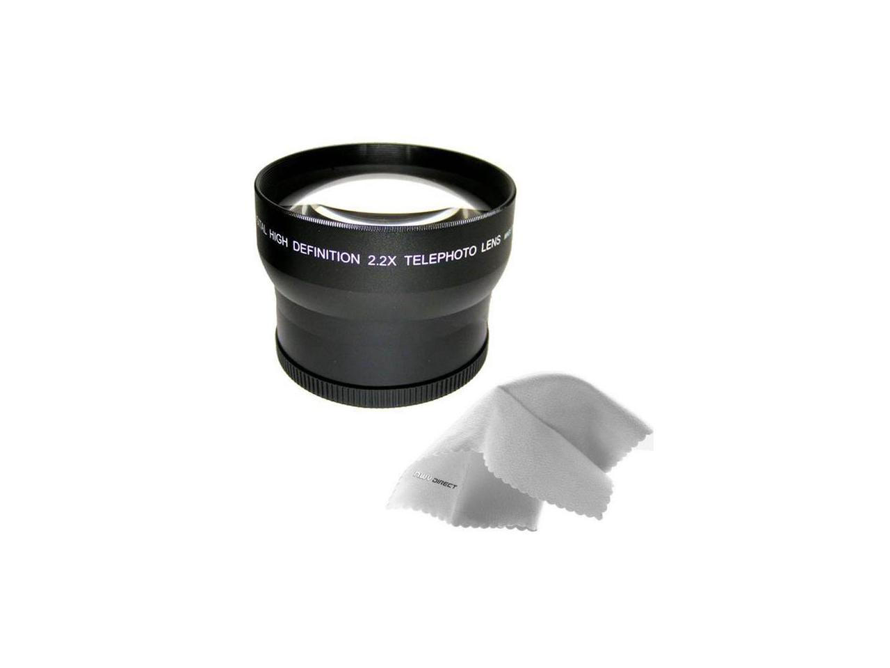 Only for Lenses with Filter Sizes of 40.5, 49, 55, 58, 62 or 67mm New 2.0X High Definition Telephoto Conversion Lens for Sony Alpha A5100