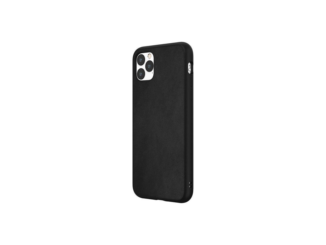 Rhinoshield Solidsuit Case For Iphone 11 Pro Max Leather Black Ssa0114961 Newegg Com