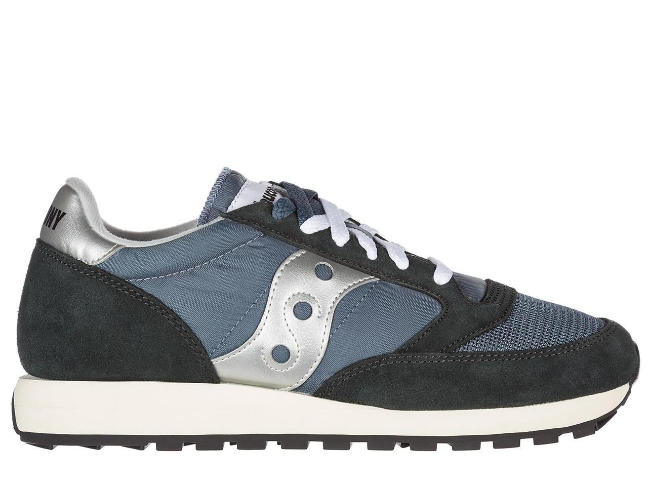SAUCONY SNEAKERS MEN'S SHOES SUEDE TRAINERS SNEAKERS SAUCONY JAZZ BLUE 73ae36