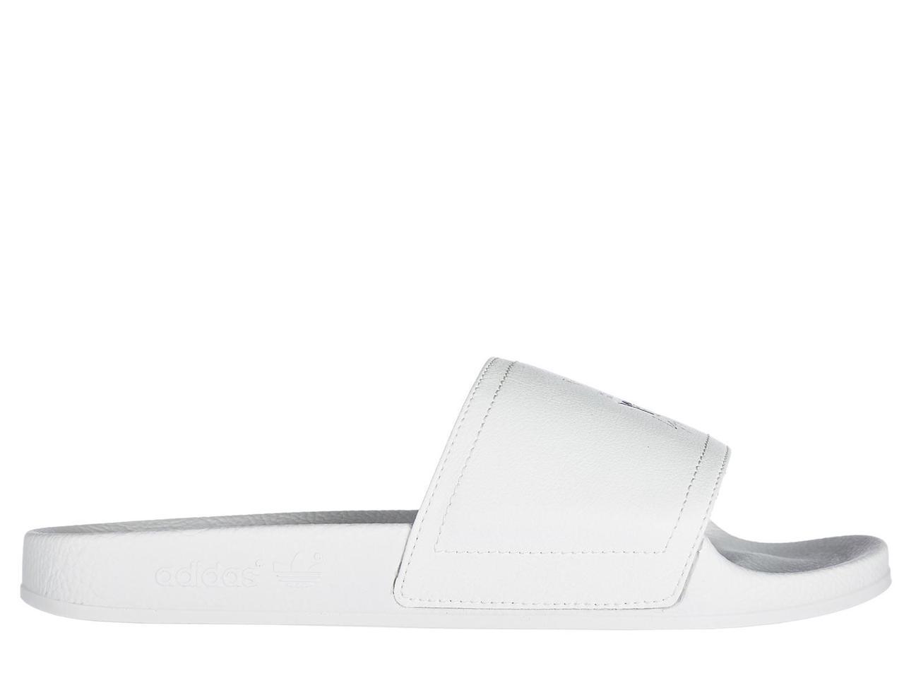 Y-3 MEN'S SLIPPERS WHITE SANDALS RUBBER  ADILETTE WHITE SLIPPERS a2529e