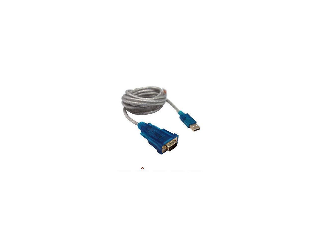 DTECH DB9 RS232 to RJ45 Serial Adapter S232 Male to RJ-45 CAT5 CAT6 Female Ethernet Converter Compatible with Standard 9 Pin RS-232 Devices