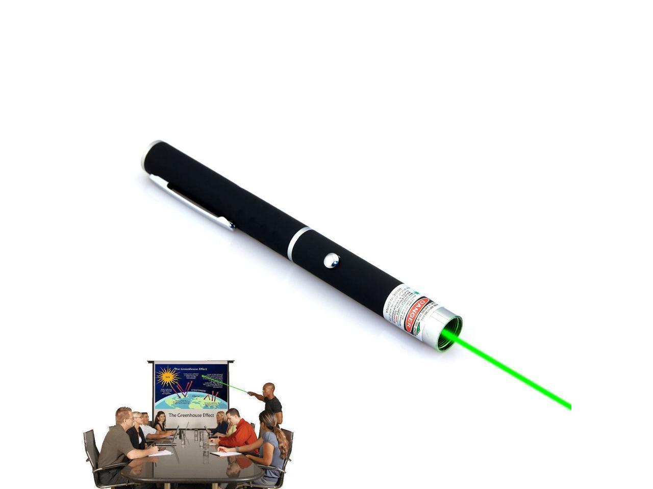 Powerful Green Red Blue Laser Pointer Pen Beam Light 5mW High Power PresenteRSDE