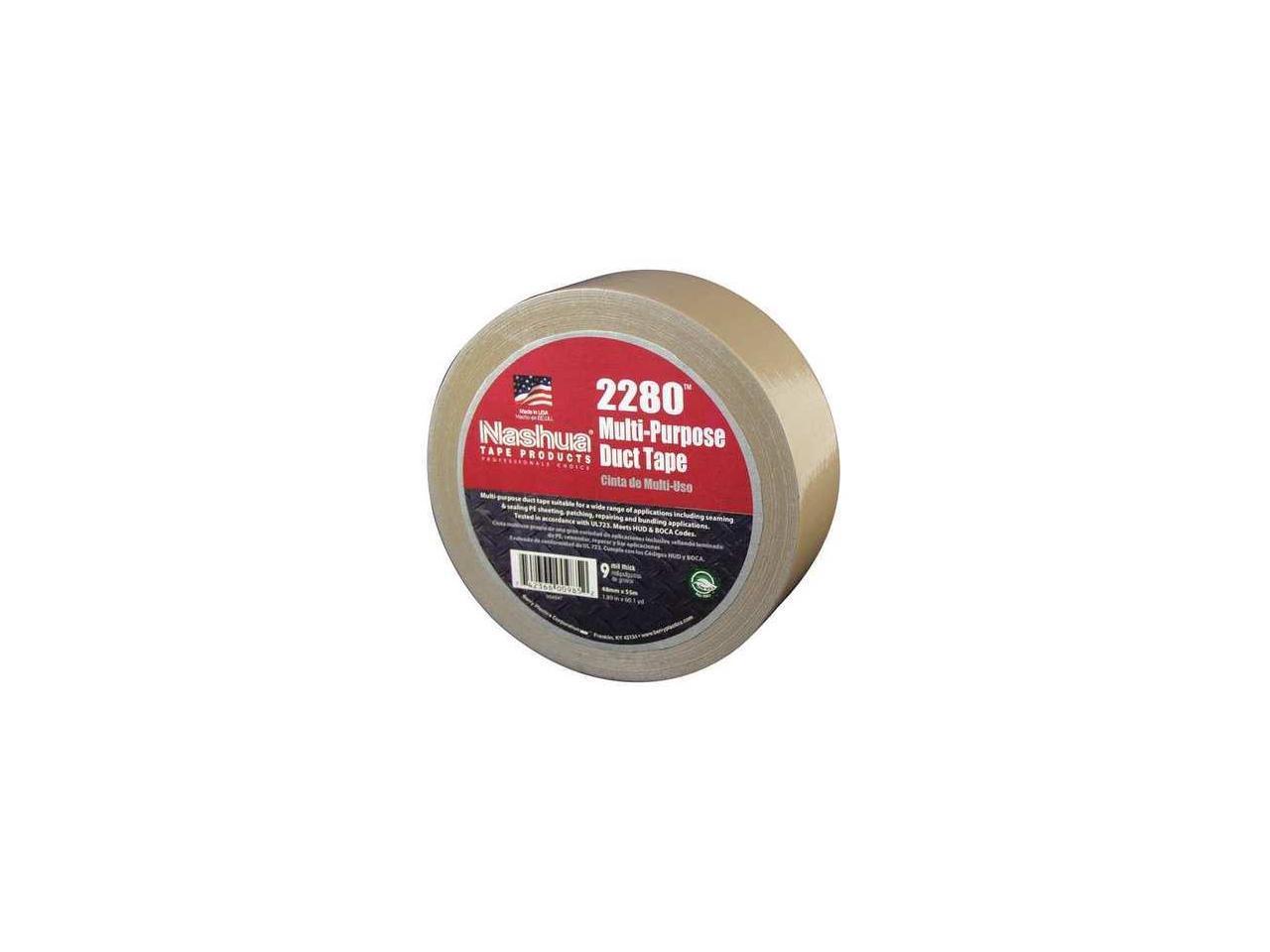 NASHUA 2280 Duct Tape,48mm x 55m,9 mil,Tan