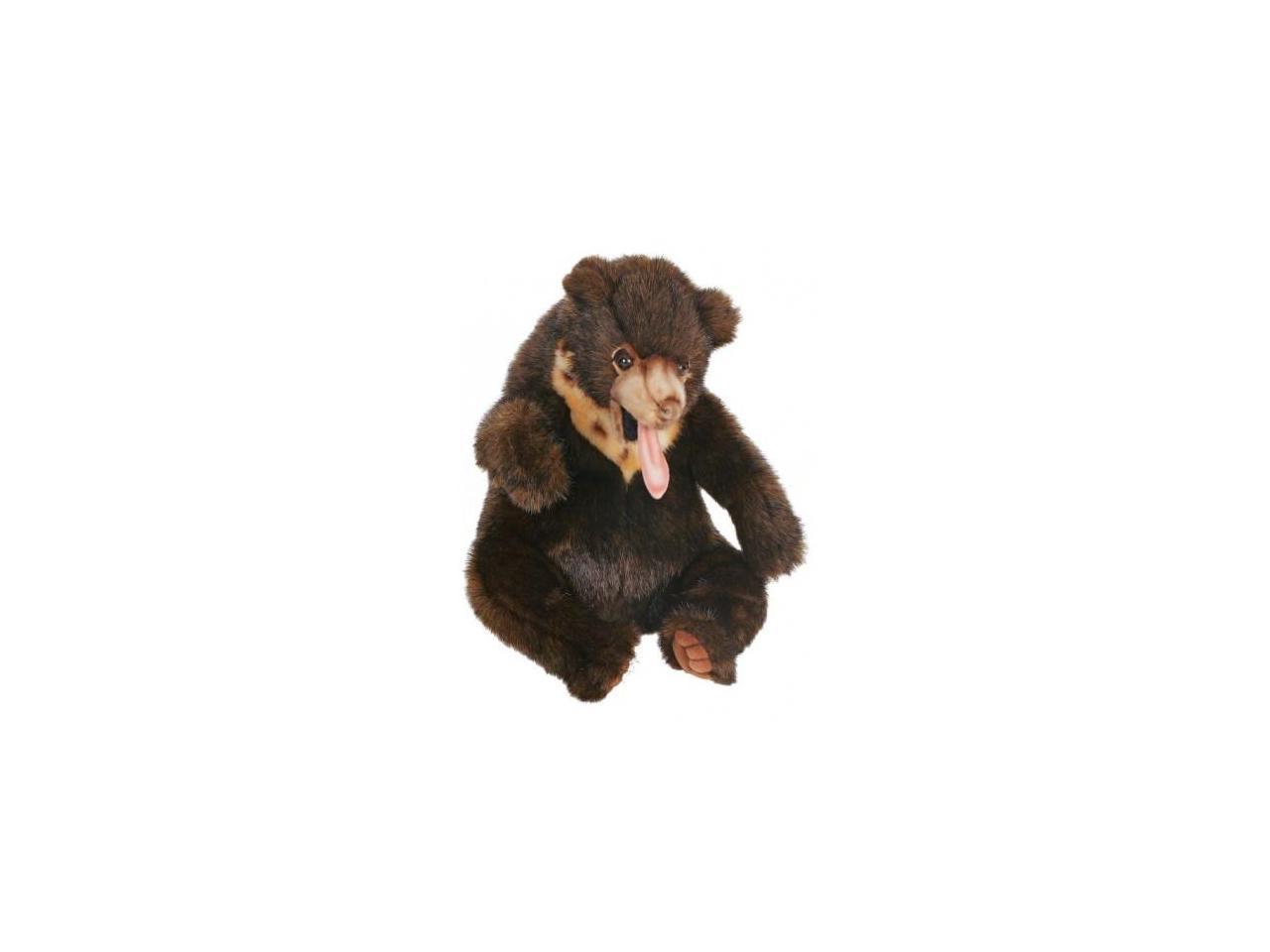 Sunbear Stuffed Animal, Hansa Sun Bear Sitting Stuffed Plush Animal Newegg Com