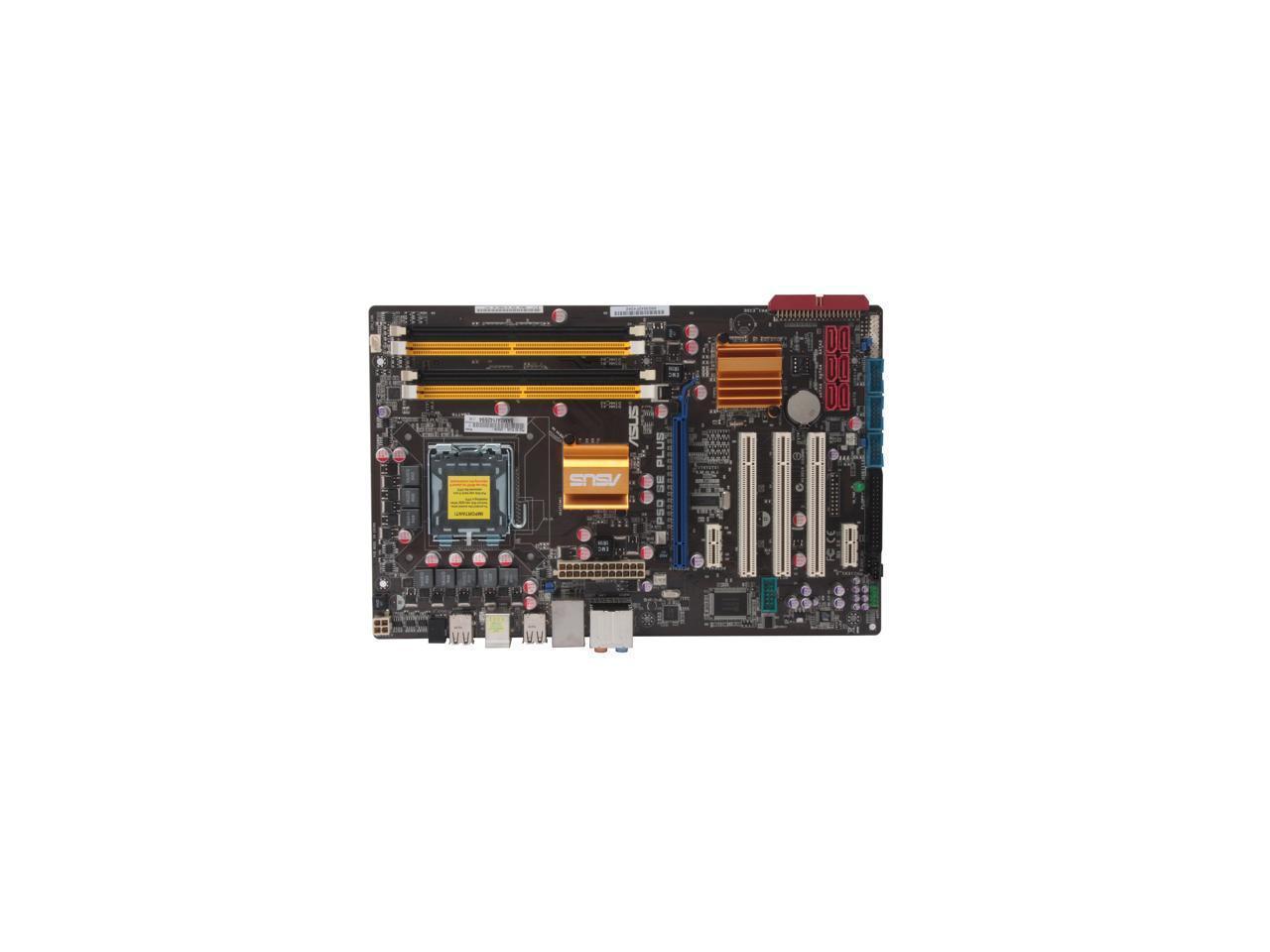 p5q se plus p45_Used - Very Good: DoDo DIY ASUS P5Q SE PLUS LGA 775 Intel P45 DDR2 ATX Intel ...