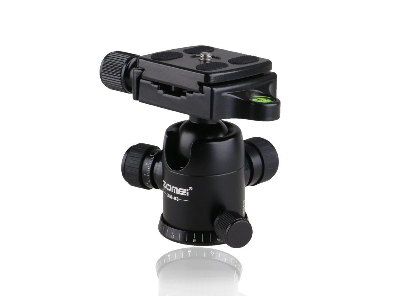 Camera USB Data Cable Protected Fastener Fixing Base For Tripod Ball Head