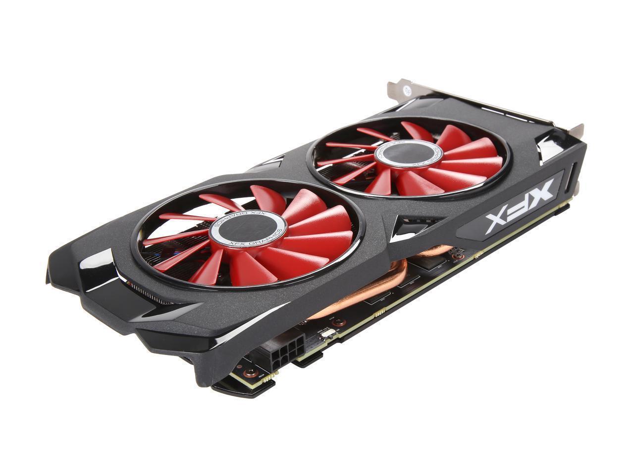 XFX Radeon RX 570 8GB DirectX 12 RX-570P8DFD6 256-Bit DDR5 ...